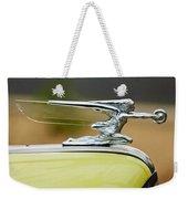 1942 Packard Hood Ornament Weekender Tote Bag