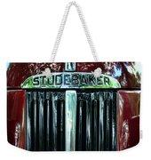 1947 Studebaker Grill Weekender Tote Bag