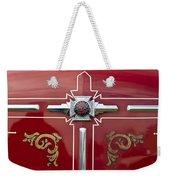 1948 American Lefrance Fire Truck Emblem Weekender Tote Bag
