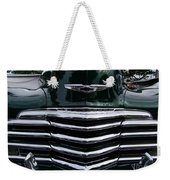 1948 Chevy Coupe Grille Weekender Tote Bag