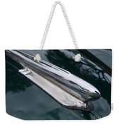 1948 Chevy Coupe Hood Ornament Weekender Tote Bag
