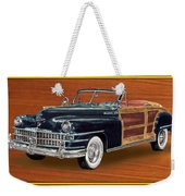 1948 Chrysler Town And Country Weekender Tote Bag