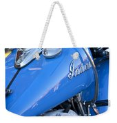 1948 Indian Chief Motorcycle Weekender Tote Bag