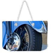 1948 Indian Chief Motorcycle Wheel Weekender Tote Bag