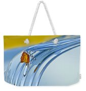 1948 Pontiac Hood Ornament 2 Weekender Tote Bag