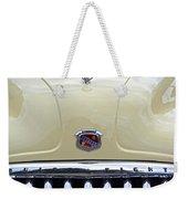 1949 Buick Super 8 Grill  Weekender Tote Bag