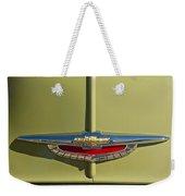 1950 Chevrolet Fleetline Emblem Weekender Tote Bag
