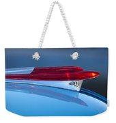 1950 Chevrolet Hood Ornament 5 Weekender Tote Bag