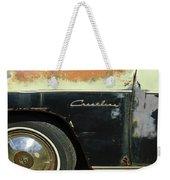 1950 Ford Crestliner Wheel Emblem Weekender Tote Bag