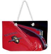 1950 Oldsmobile Rocket 88 Rear Emblem And Taillight Weekender Tote Bag