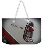 1950s Chevrolet Belair Chevy Antique Vintage Car 2 Weekender Tote Bag