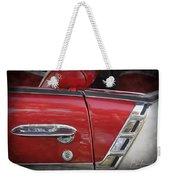 1950s Chevrolet Belair Chevy Antique Vintage Car 3 Weekender Tote Bag
