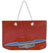 1951 Chevrolet Sedan Delivery Hood Ornament Weekender Tote Bag