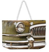 1951 Nash Ambassador Front End Closeup Weekender Tote Bag