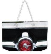 1951 Pontiac Streamliner Grille Emblem Weekender Tote Bag
