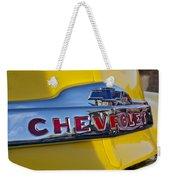 1952 Chevrolet Hood Emblem Weekender Tote Bag