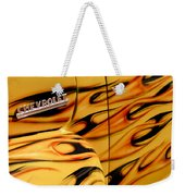 1952 Chevrolet Pickup Truck Emblem Weekender Tote Bag