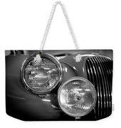 1952 Jaguar Headlights Weekender Tote Bag