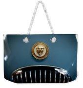 1952 Jaguar Hood Ornament Weekender Tote Bag by Sebastian Musial