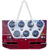 1952 L Model Mack Pumper Fire Truck Controls Weekender Tote Bag