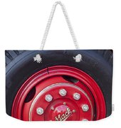 1952 L Model Mack Pumper Fire Truck Wheel 2 Weekender Tote Bag