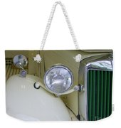 1952 Mg Roadster Headlamp Weekender Tote Bag
