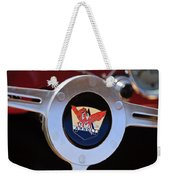 1953 Arnolt Mg Steering Wheel Emblem Weekender Tote Bag