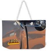 1953 Chevrolet 3100 Pickup Emblem Weekender Tote Bag