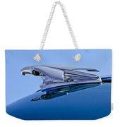 1953 Chevrolet 3100 Pickup Hood Ornament Weekender Tote Bag