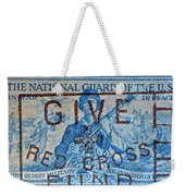 1953 The National Guard Of The U. S. Stamp Weekender Tote Bag