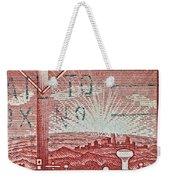 1954 Centenary Of Australian Telegraph Stamp Weekender Tote Bag