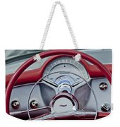 1954 Chevrolet Corvette Steering Wheel Weekender Tote Bag