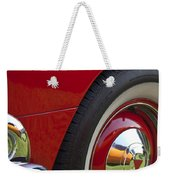 1954 Hudson Hornet Wheel And Emblem Weekender Tote Bag