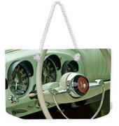 1954 Kaiser Darrin Steering Wheel Weekender Tote Bag