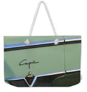 1954 Lincoln Capri Weekender Tote Bag