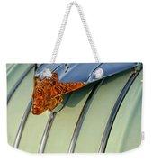 1954 Pontiac Chieftain Hood Ornament Weekender Tote Bag