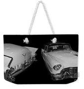 1955 Cadillac Series 62 El Dorado Convertible Weekender Tote Bag