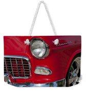 1955 Chevrolet 210 Front End Weekender Tote Bag