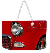 1955 Chevrolet 210 Headlight Weekender Tote Bag