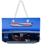 1955 Chevrolet Belair Hood Emblem 4 Weekender Tote Bag