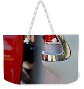 1955 Chevrolet Belair Taillight Emblem Weekender Tote Bag
