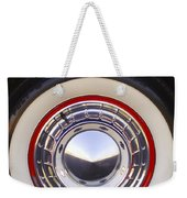1955 Chevrolet Nomad Wheel Weekender Tote Bag