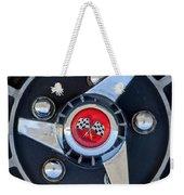 1955 Chevrolet Truck Wheel Rim Weekender Tote Bag