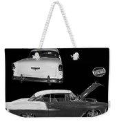 1955 Chevy Bel Air 2 Door Hard Top Weekender Tote Bag