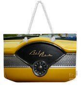 1955 Chevy Belair Clock Weekender Tote Bag