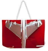 1955 Chevy Belair Hood Ornament Weekender Tote Bag