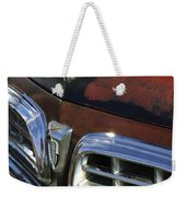 1955 Chrysler Hood Ornament Weekender Tote Bag
