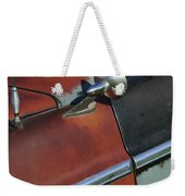 1955 Chrysler Windsor Deluxe Emblem Weekender Tote Bag