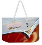 1955 Ford Fairlane Crown Victoria Emblem Weekender Tote Bag