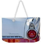 1955 Ford Fairlane Fordomatic Taillight Weekender Tote Bag